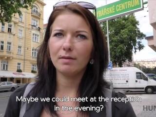 HUNT4K – tvrdá šukačka úřímo uprostřed Prahy